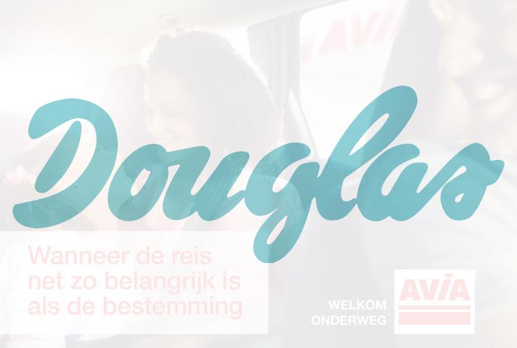 Douglas bij AVIA Tankservice Haarhuis in Westerhaar, Welkom onderweg