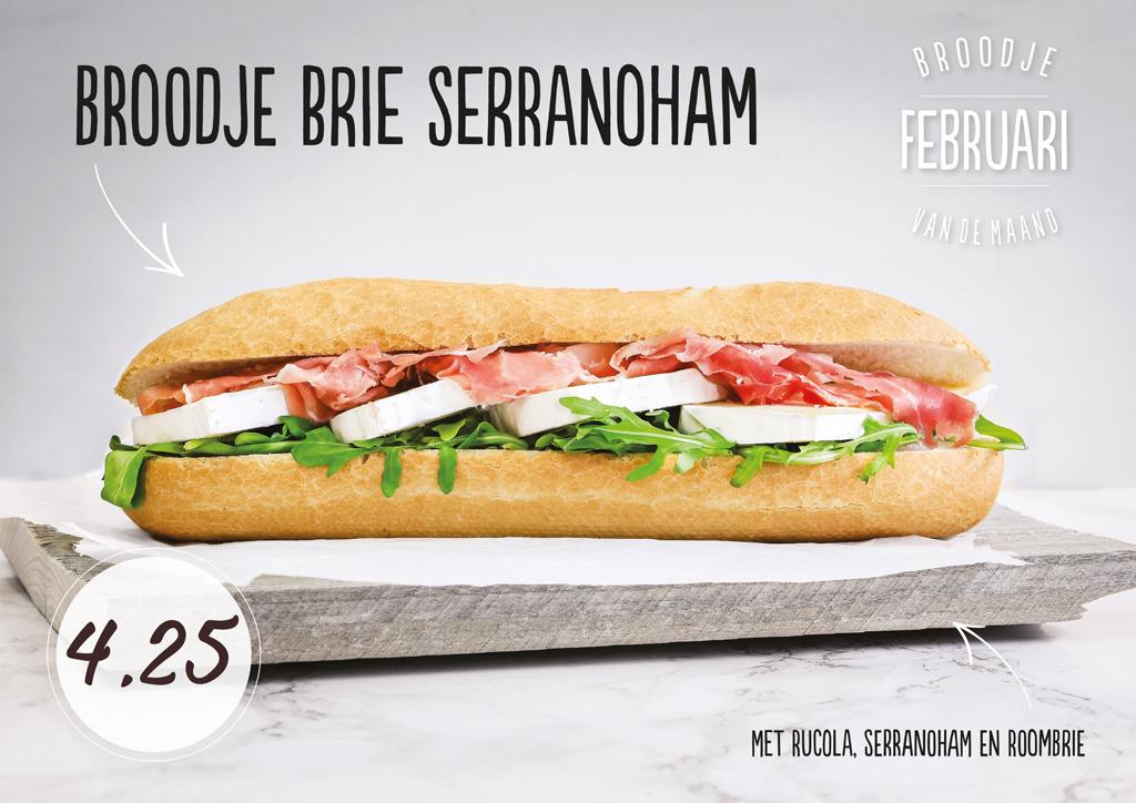 Welkom onderweg broodje van de maand februari